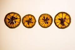 Μια εικόνα μιας φέτας των φετών λεμονιών Στοκ Φωτογραφίες