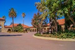 Μια εικόνα της πανεπιστημιούπολης του Πανεπιστήμιο του Stanford, Καλιφόρνια, ΗΠΑ Στοκ Φωτογραφία