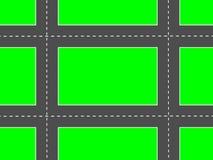 Διαγώνιοι δρόμοι Στοκ φωτογραφία με δικαίωμα ελεύθερης χρήσης