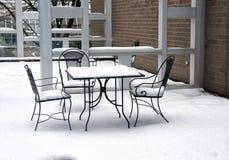 Χειμερινό Picnic Στοκ Εικόνες