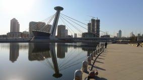 Μια ειδική γέφυρα στην πόλη tianjin Στοκ φωτογραφίες με δικαίωμα ελεύθερης χρήσης