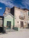 Μια εκκλησία σε Apice Vecchio στοκ φωτογραφία