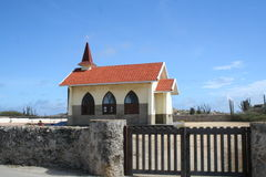 Εκκλησία ερήμων Στοκ Εικόνες