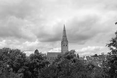 Μια εκκλησία του Έξετερ στοκ φωτογραφία με δικαίωμα ελεύθερης χρήσης