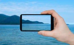 Μια εκμετάλλευση χεριών ατόμων έξυπνη στοκ εικόνες με δικαίωμα ελεύθερης χρήσης