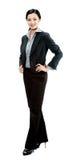 Μια ελκυστική επιχειρηματίας Στοκ φωτογραφία με δικαίωμα ελεύθερης χρήσης