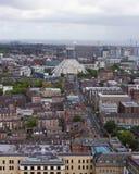 Μια εναέρια άποψη του Λίβερπουλ που φαίνεται ο Βορράς Στοκ φωτογραφία με δικαίωμα ελεύθερης χρήσης