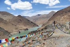 Μια δεξαμενή στο Θιβέτ Στοκ φωτογραφίες με δικαίωμα ελεύθερης χρήσης