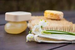 Μια επιλογή των φραγμών σαπουνιών στοκ εικόνα με δικαίωμα ελεύθερης χρήσης