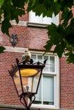 Μια λεπτή ημέρα στο ρομαντικό Άμστερνταμ, Κάτω Χώρες Στοκ Φωτογραφία