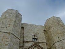 Μια λεπτομέρεια ιστορικό castel del monte Στοκ εικόνες με δικαίωμα ελεύθερης χρήσης