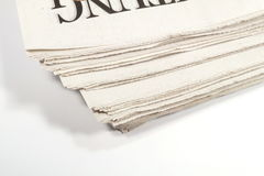 Μια εφημερίδα Στοκ φωτογραφία με δικαίωμα ελεύθερης χρήσης