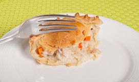Φυτική πίτα κοτόπουλου Στοκ φωτογραφίες με δικαίωμα ελεύθερης χρήσης