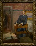 Μια ζωγραφική από Hilaire German Edgar Degas στο National Gallery στο Λονδίνο Στοκ φωτογραφίες με δικαίωμα ελεύθερης χρήσης