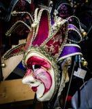 Μια ζωηρόχρωμη μάσκα από τη Βενετία στοκ εικόνα με δικαίωμα ελεύθερης χρήσης