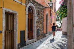 Μια ημέρα σε Castelmola στοκ φωτογραφία