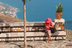 Μια ημέρα σε Castelmola στοκ εικόνες