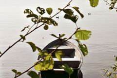 Μια ημέρα στη βάρκα Στοκ Εικόνες