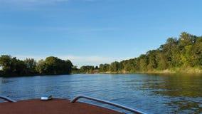 Μια ημέρα στη βάρκα Στοκ φωτογραφία με δικαίωμα ελεύθερης χρήσης