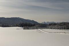Μια θέα βουνού Στοκ φωτογραφία με δικαίωμα ελεύθερης χρήσης