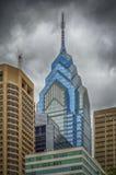 Μια θέση ελευθερίας, ουρανοξύστης στοκ φωτογραφία