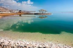 Μια θέση που χαλαρώνει στη νεκρή θάλασσα στοκ φωτογραφίες με δικαίωμα ελεύθερης χρήσης