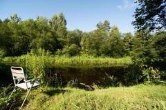 Μια θέση που χαλαρώνει στη φύση Στοκ φωτογραφία με δικαίωμα ελεύθερης χρήσης