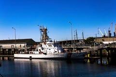 Μια θαλάσσια βάρκα κατηγορίας προστάτη στο Πόρτλαντ, Μαίην στοκ φωτογραφία με δικαίωμα ελεύθερης χρήσης
