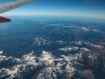 Δύσκολα βουνά Ariel Στοκ Εικόνα