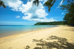 Μια θαυμάσια παραλία στο Βιετνάμ Στοκ φωτογραφία με δικαίωμα ελεύθερης χρήσης