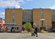 Μια θερινή ημέρα σε Medborgarplatsen Στοκ φωτογραφίες με δικαίωμα ελεύθερης χρήσης