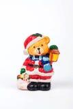 Μια διακόσμηση Χριστουγέννων στο άσπρο υπόβαθρο Στοκ φωτογραφία με δικαίωμα ελεύθερης χρήσης