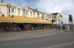 Μια διασκέδαση arcade σε μια οδό προκυμαιών σε Dawlidh Devon UK Στοκ εικόνες με δικαίωμα ελεύθερης χρήσης
