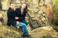 Μια ιστορία αγάπης στη φύση Στοκ εικόνες με δικαίωμα ελεύθερης χρήσης