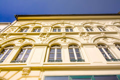 Μια ιστορική πρόσοψη ενός θαυμάσιου κτηρίου Στοκ Εικόνες