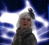 Μια κακή μάγισσα Στοκ εικόνες με δικαίωμα ελεύθερης χρήσης