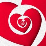 Μια καρδιά που μεταφέρει την αγάπη στο άπειρο Στοκ φωτογραφίες με δικαίωμα ελεύθερης χρήσης