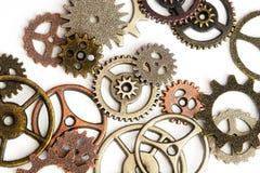 Παλαιά εργαλεία μετάλλων στο λευκό στοκ εικόνες με δικαίωμα ελεύθερης χρήσης