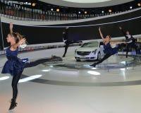 Μια καταπληκτική απόδοση χορού στο θάλαμο Cadillac Στοκ Φωτογραφίες