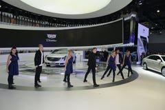 Μια καταπληκτική απόδοση χορού στο θάλαμο Cadillac Στοκ φωτογραφία με δικαίωμα ελεύθερης χρήσης