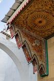 Μια καταπληκτική πόλη στο Μαρόκο, Rabat, medina, στενές οδοί, ένας θόλος απίστευτος-κοιτάγματος πέρα από την πόρτα στοκ φωτογραφία με δικαίωμα ελεύθερης χρήσης