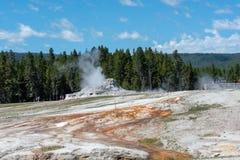 Μια καυτή άνοιξη Yellowstone στοκ φωτογραφία με δικαίωμα ελεύθερης χρήσης