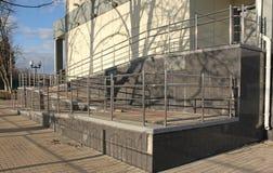 Μια κεκλιμένη ράμπα Στοκ εικόνα με δικαίωμα ελεύθερης χρήσης