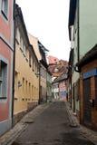 Μια κενή οδός στο Βραδεμβούργο Στοκ Εικόνες