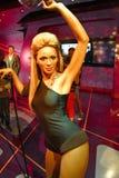 Μια κηροπλαστική Beyoncé Knowles Στοκ εικόνες με δικαίωμα ελεύθερης χρήσης