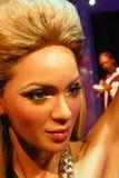 Μια κηροπλαστική Beyoncé Knowles Στοκ εικόνα με δικαίωμα ελεύθερης χρήσης
