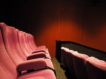 Μια κινηματογραφική αίθουσα σε Tangerang Στοκ Φωτογραφία