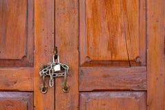 μια κλειδωμένη πόρτα Στοκ Φωτογραφία