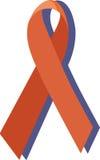 Μια κορδέλλα του AIDS Στοκ εικόνες με δικαίωμα ελεύθερης χρήσης