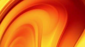 Μια κόκκινη κίτρινη κλίση ενός φωτεινού χρώματος πυρκαγιάς αλλάζει αργά και κυκλικά 4k ομαλός άνευ ραφής περιτυλίχτηκε αφηρημένη  ελεύθερη απεικόνιση δικαιώματος